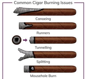 Common Cigar Burning Issues